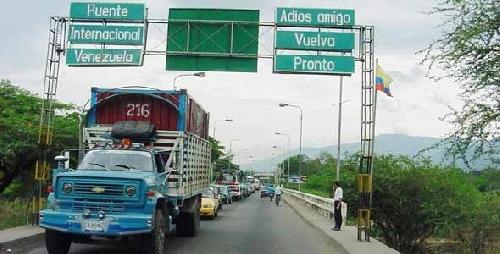 Venezuela cierra indefinidamente la frontera con Colombia, entre T�chira y Norte de Santander